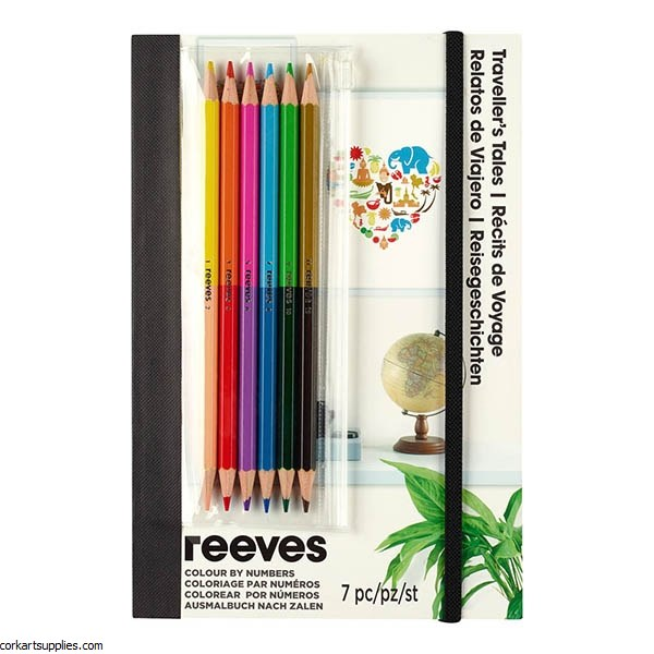 Reeves A5 Set Travel Icons