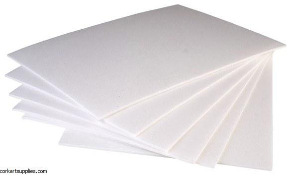 Polystyrene A4 (297x210) 25pk