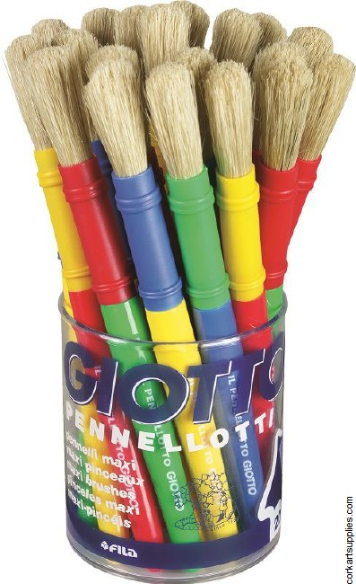 Giotto Maxi Brush 20pk
