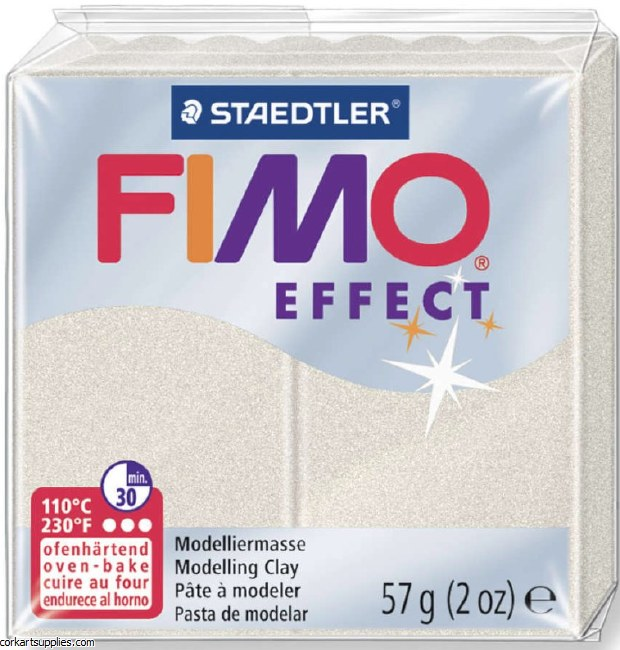 Fimo 57gm Effect Metallic Pearl