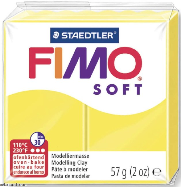 FIMO Soft 57g 8020-10 lemon