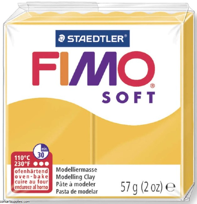 FIMO Soft 56g 8020-16 sun yellow