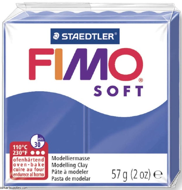 FIMO Soft 57g 8020-33 brilliant blue