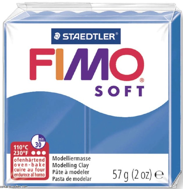 FIMO Soft 57g 8020-37 pacific blue