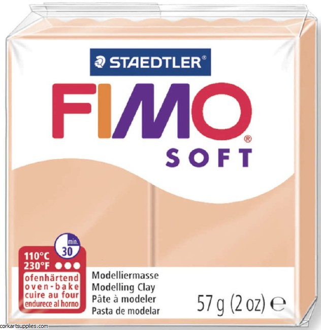 FIMO Soft 57g 8020-43 Pale Pink