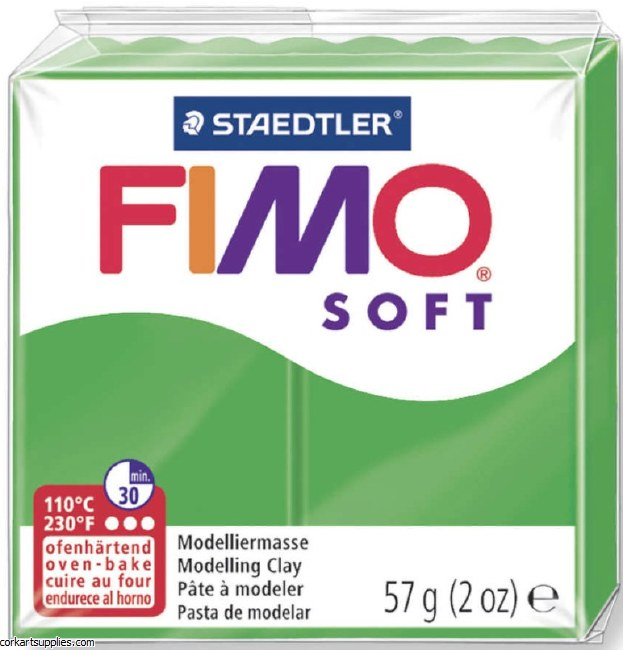 FIMO Soft 57g 8020-53 tropical green