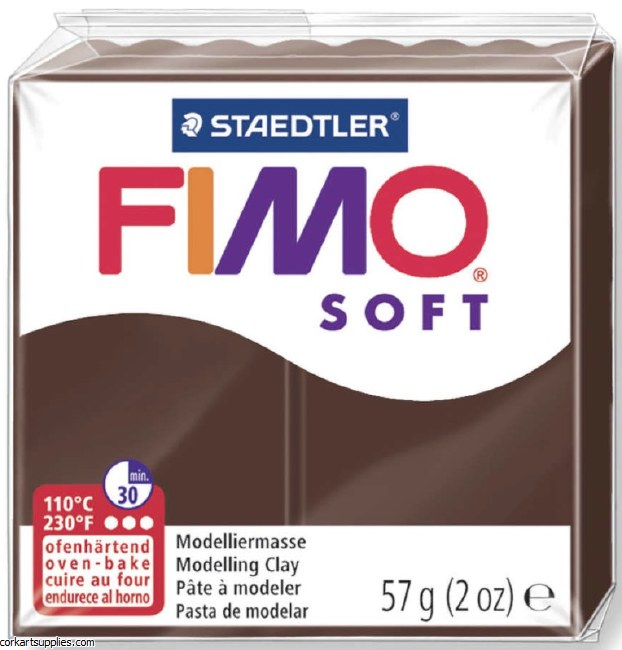 FIMO Soft 57g 8020-75 chocolate