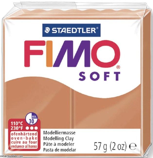 FIMO Soft 57g 8020-76 cognac