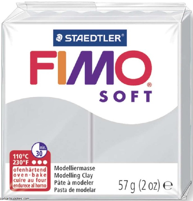 FIMO Soft 57g 8020-80 doplhin grey