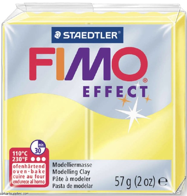Fimo 57gm Effect Transparent Yellow