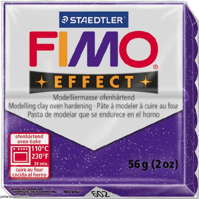 Fimo 5gm Effect Glitter Purple^