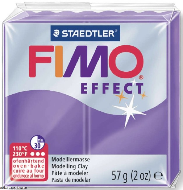 Fimo 57gm Effect Transparent Purple