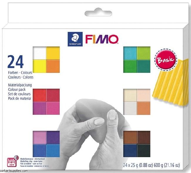Fimo Soft Set 802302 24pk