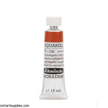 Horadam Aquarell 15ml Naples yellow reddish