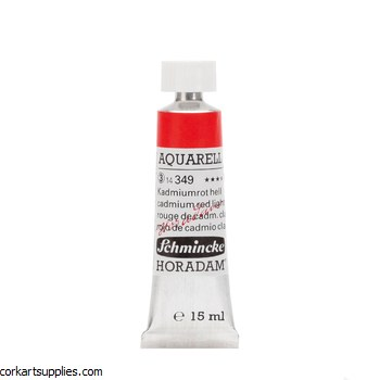 Horadam Aquarell 15ml Cadmium red light