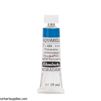 Horadam Aquarell 15ml Phthalo blue