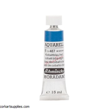 Horadam Aquarell 15ml Cobalt blue light