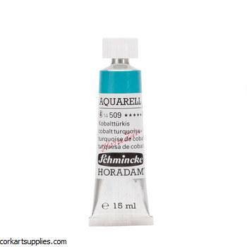 Horadam Aquarell 15ml Cobalt turquoise