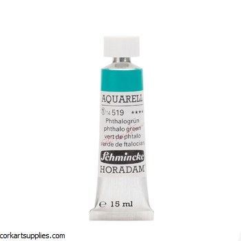Horadam Aquarell 15ml Phthalo green
