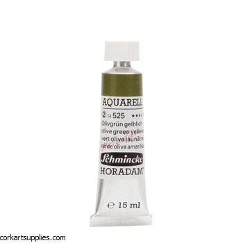 Horadam Aquarell 15ml Olive green yellowish