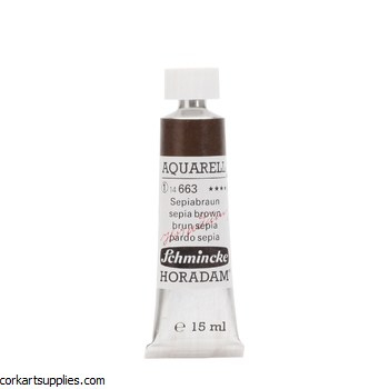 Horadam Aquarell 15ml Sepia brown