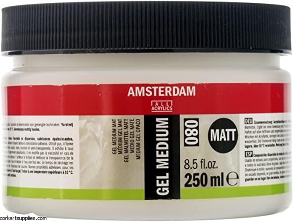 Amsterdam Gel Medium Matt 250m