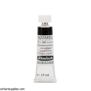Horadam Aquarell 15ml Ivory black