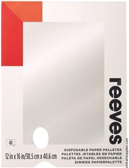 Palette Tear Off Reeves 12x16