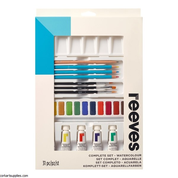 Reeves Watercolour Set
