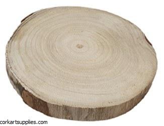 Wood Slice Ø20cm Thick 20mm