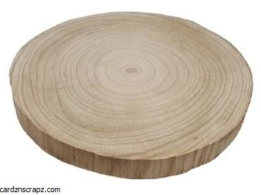 Wood Slice Ø30cm Thick 20mm