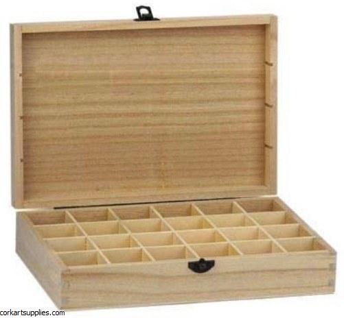 Wood Storage Box 31x22x10cm
