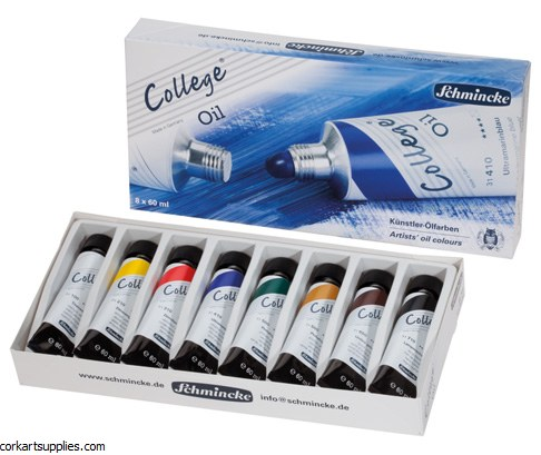 Schmincke College Oil 60ml 8pk