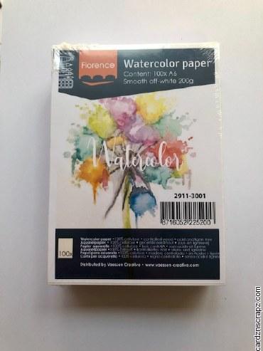 Watercolour Paper Smooth A6 100pk 95lb/200gm