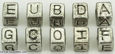 Beads Alpha 6mm 10pk BCDFG