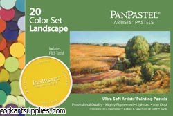 PanPastel Ultra Soft Artist Pastel Set 9ml 20pk Landscape Set