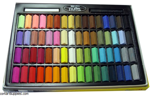 Inscribe Soft Pastels 64 Pack Half