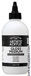 Artists' Acrylic Gloss Medium 250ml Winsor & Newton