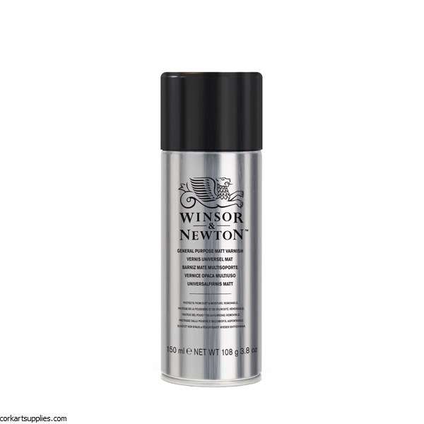 Winsor & Newton Aerosol 150ml All Purpose Matt Varnish