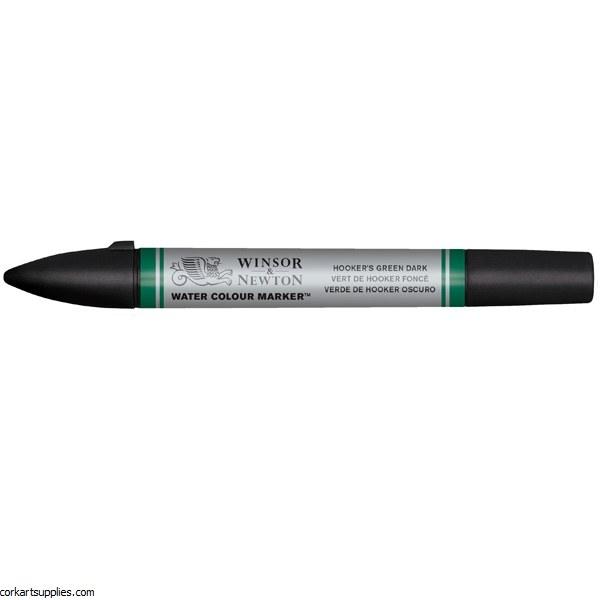 Watercolour Marker - Hooker's Green Dark 312