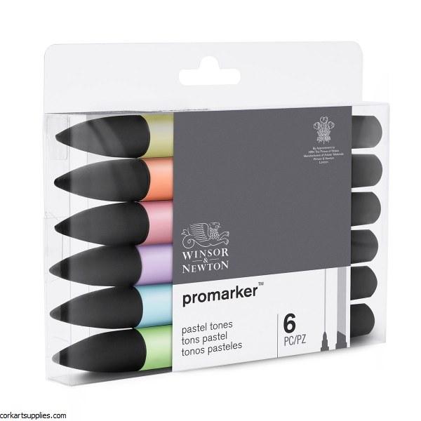 ProMarker Set 6pk Pastel Tone