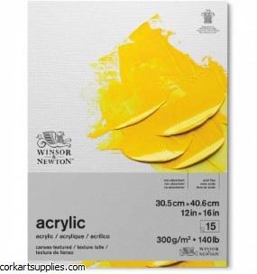 W&N Acrylic Pad 300gm 12x16