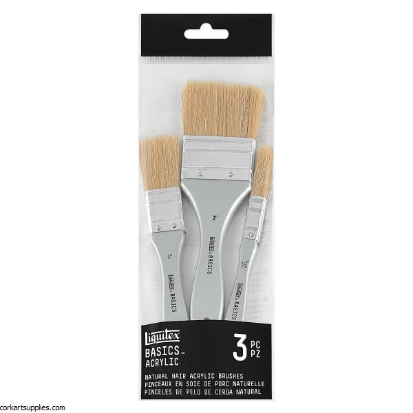 Liquitex Brush Set Natural 3pk