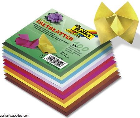 Origami 75x75mm 500pk Asst cols