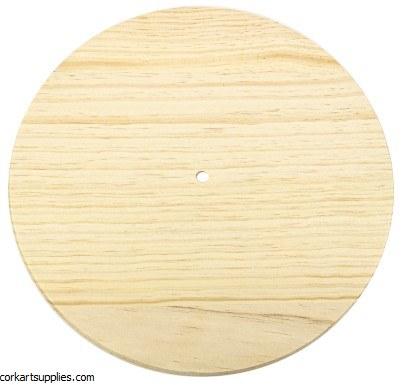 Wood Clock Face Ø12