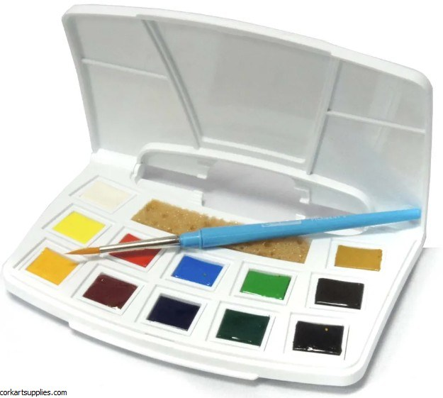 Talens Water Colour Pocket Box 12pk