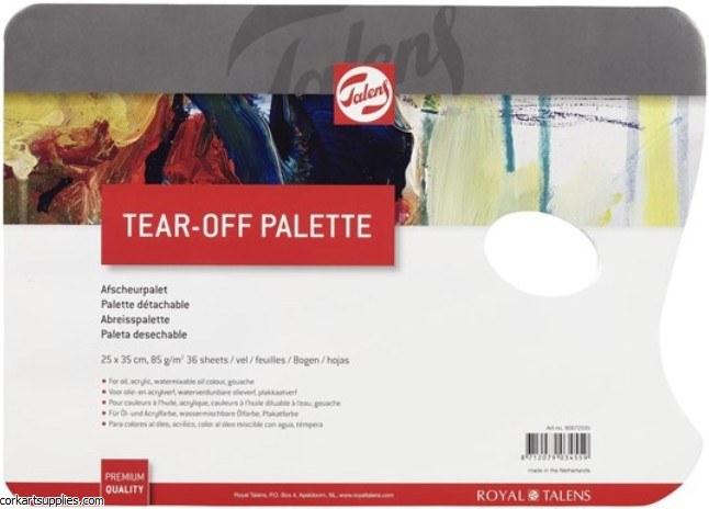 Palette Tear Off 25x35cm 36sh
