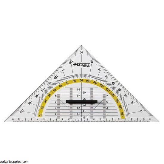 Set Square 45°/22cm Elite
