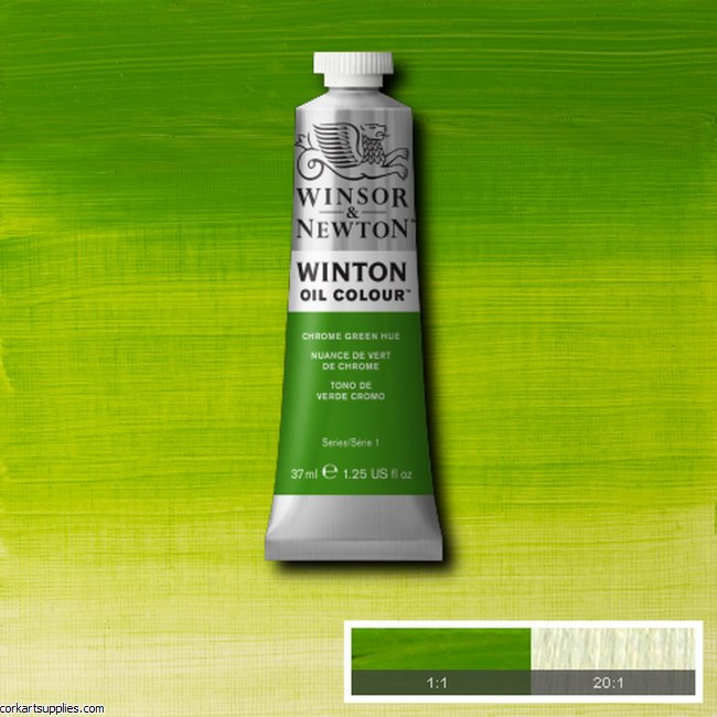Winton Oil Colour 37ml Chrome Green (Hue)