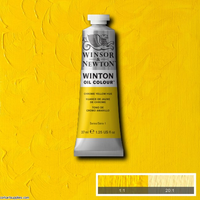 Winton Oil Colour 37ml Chrome Yellow (Hue)